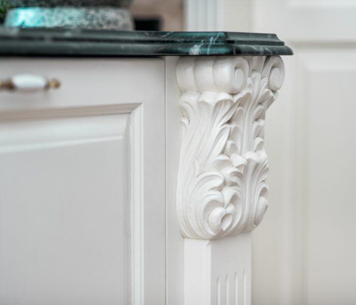 Rzeźbienie do kuchni , detal