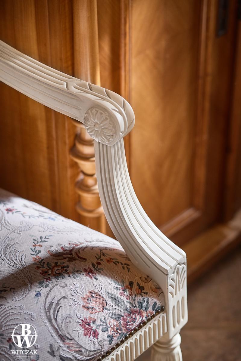detal krzesło
